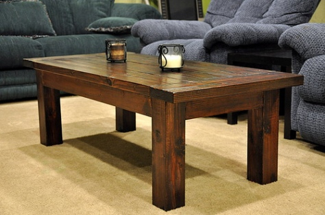 simple square coffee table plans
