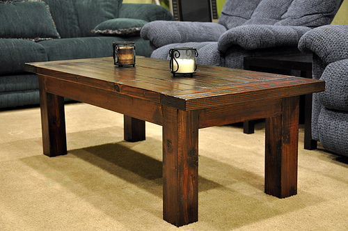 coffee table plans square